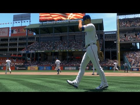 MLB The Show 19 - Texas Rangers Vs Baltimore Orioles - Gameplay (PS4 HD) [1080p60FPS]
