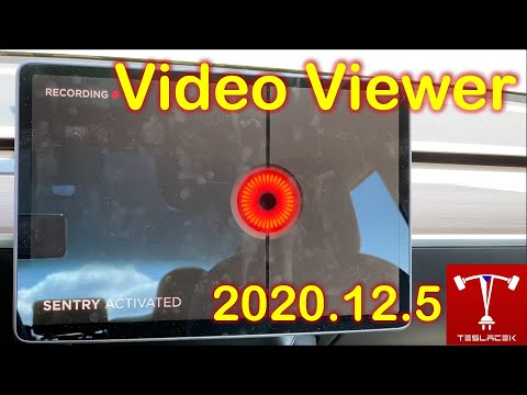 #175 Tesla OS 2020.12.5 DashCam Viewer | Teslacek