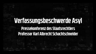 Pressekonferenz: Verfassungsklage gegen Merkels Asylchaos