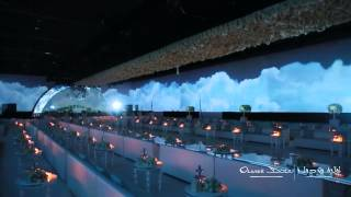 Video Mapping Dubai Done By Olivier Dolz Wedding Planner At Armani Hotel Dubai