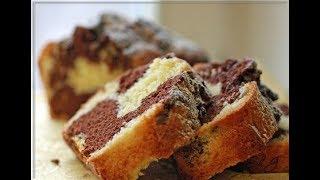 Мраморный кекс.Турецкий рецепт кекса. Простой рецепт.