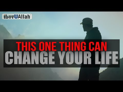 This One Thing Can Change Your Life