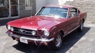 1965 Ford Mustang GT Fastback 289 V8 Four-Speed - Startup and Walkaround