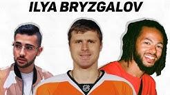 REACT TO ILYA BRYZGALOV   Canadians Reacting To Funny Goalies