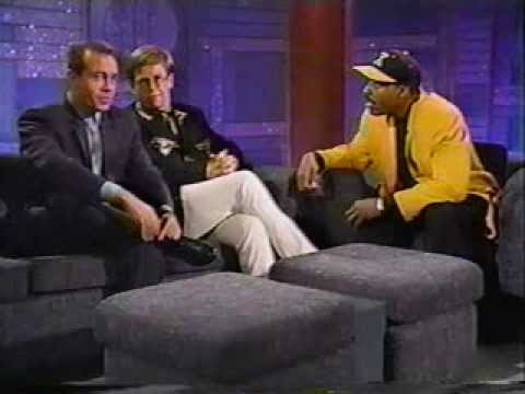 Elton John & Bernie Taupin On The Arsenio Hall Show 1992