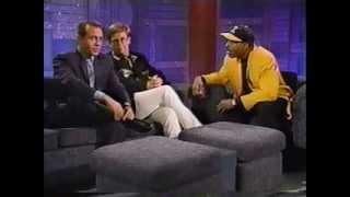 Elton John & Bernie Taupin On The Arsenio Hall Show (1992)