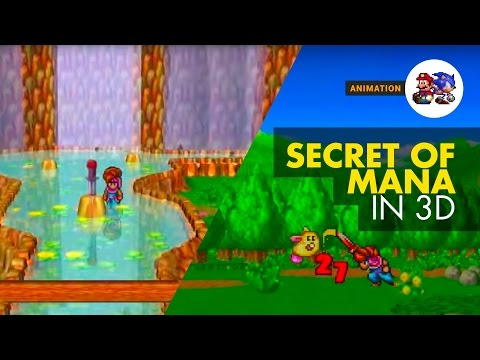 Secret Of Mana reimagined in 3D