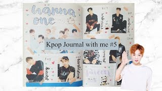 Kpop Journal with me #5 | Wanna One Spread