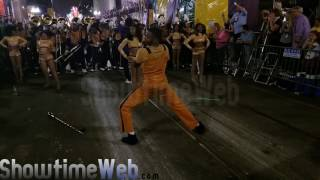 Alcorn State vs Talladega College Marching Band - 2017 Mardi Gras Parade