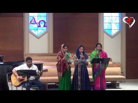 My Heart is Filled - Psalm 28:7 | English Christian Song |  Heavenly Grace Indian Church|