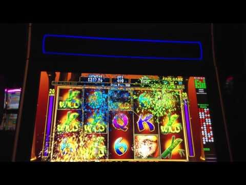 $4 Bengal Eyes Slot Machine Bonus Retriggers Big Win Max Bet