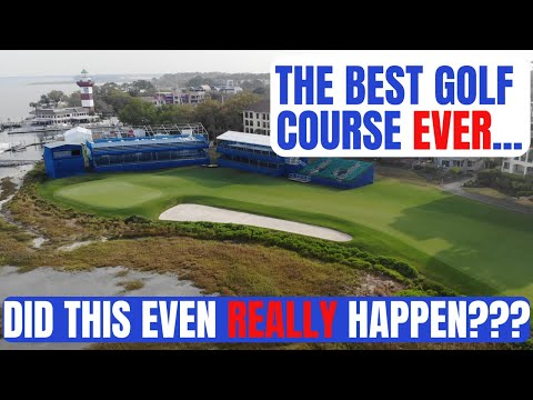 Did This Really Even Happen?!?! The Best Golf Course Ever???