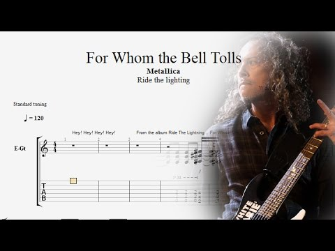 Guitar Lessons: Metallica - For Whom The Bell Tolls Tabs - Complete ...