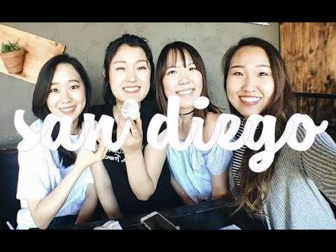 FIRST VLOG EVER | Daycation in Sunny San Diego with #m10babes
