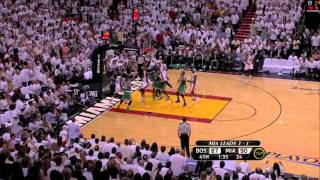 Last 4 Minutes Game 5 Celtics at Heat - 2011 Eastern Conference Semi-Finals