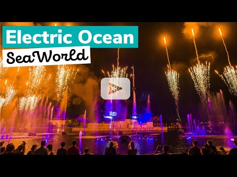 Electric Ocean at SeaWorld Orlando