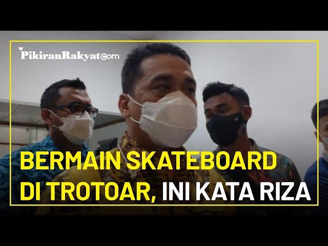 Viral di Medsos, Wagub Riza Patria Tegaskan Bermain Skateboard di Trotoar di Jakarta: Tidak Boleh