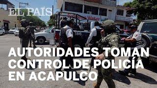 Policías vinculados con el crimen organizado en Acapulco
