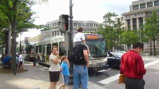 WMATA Compilation | Archives Navy Memorial Station Buses!