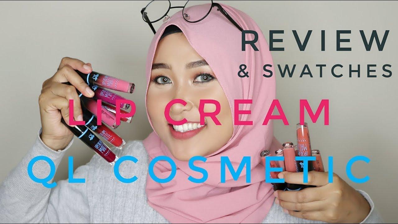QL Cosmetics Eyebrow Cream & Lip Cream Matte Nude Series
