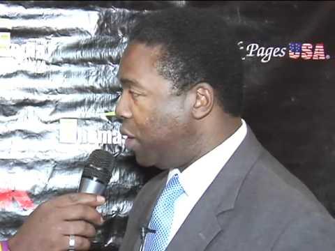 Mayor Alvin Brown interviewed at Black Expo