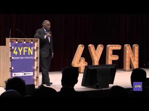 """""""Golden Era of Mobile Innovation"""", Sanjiv Ahuja (Chairman Tilman Global Holdings) - 4YFN"""