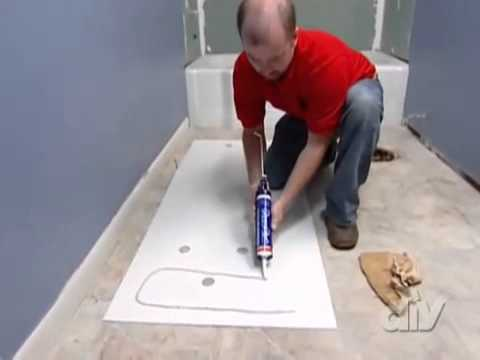 Installing a Tub Surround - YouTube