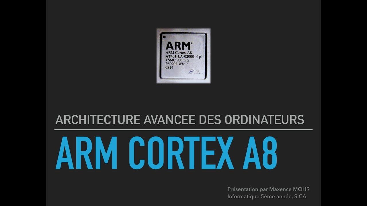 ARM Cortex A8 - Présentation de l'architecture - YouTube