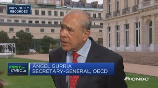 "US-China trade tensions spillover will become ""more evident"": OECD 