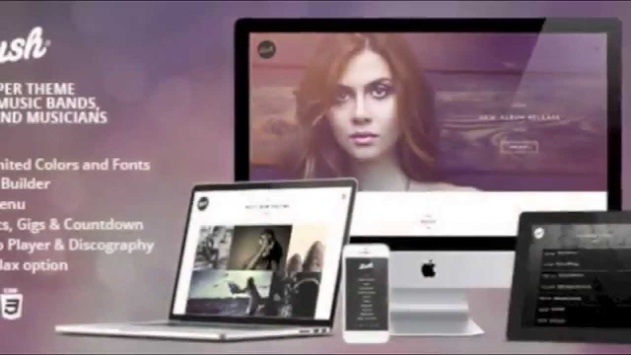 Lush: WordPress Music Theme For Artists And Music Industry ...
