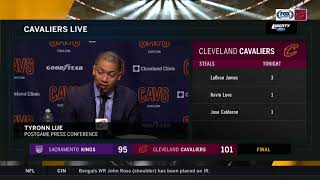Ty Lue's full postgame comments after the Cavs' 13th straight win