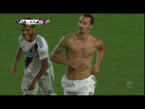 Zlatan Ibrahimovic scores HAT TRICK!! Watch all 3 goals