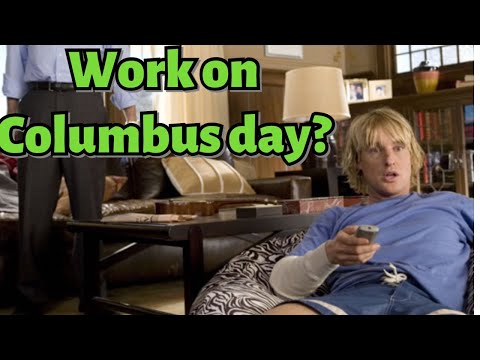 What's Your Policy On Columbus Day?  Randy Dupree Job Interview.  You Me And Dupree Owen Wilson