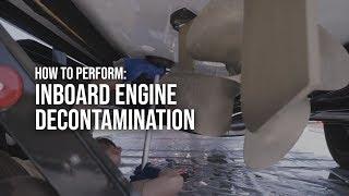 Inboard Engine Decontamination