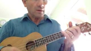 Waters of March ukulele chords sort of - Holmes