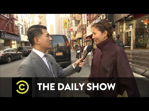 'The O'Reilly Factor' Gets Racist in Chinatown: The Daily Show