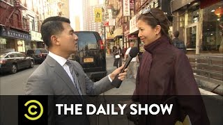 """The O'Reilly Factor"" Gets Racist in Chinatown: The Daily Show"