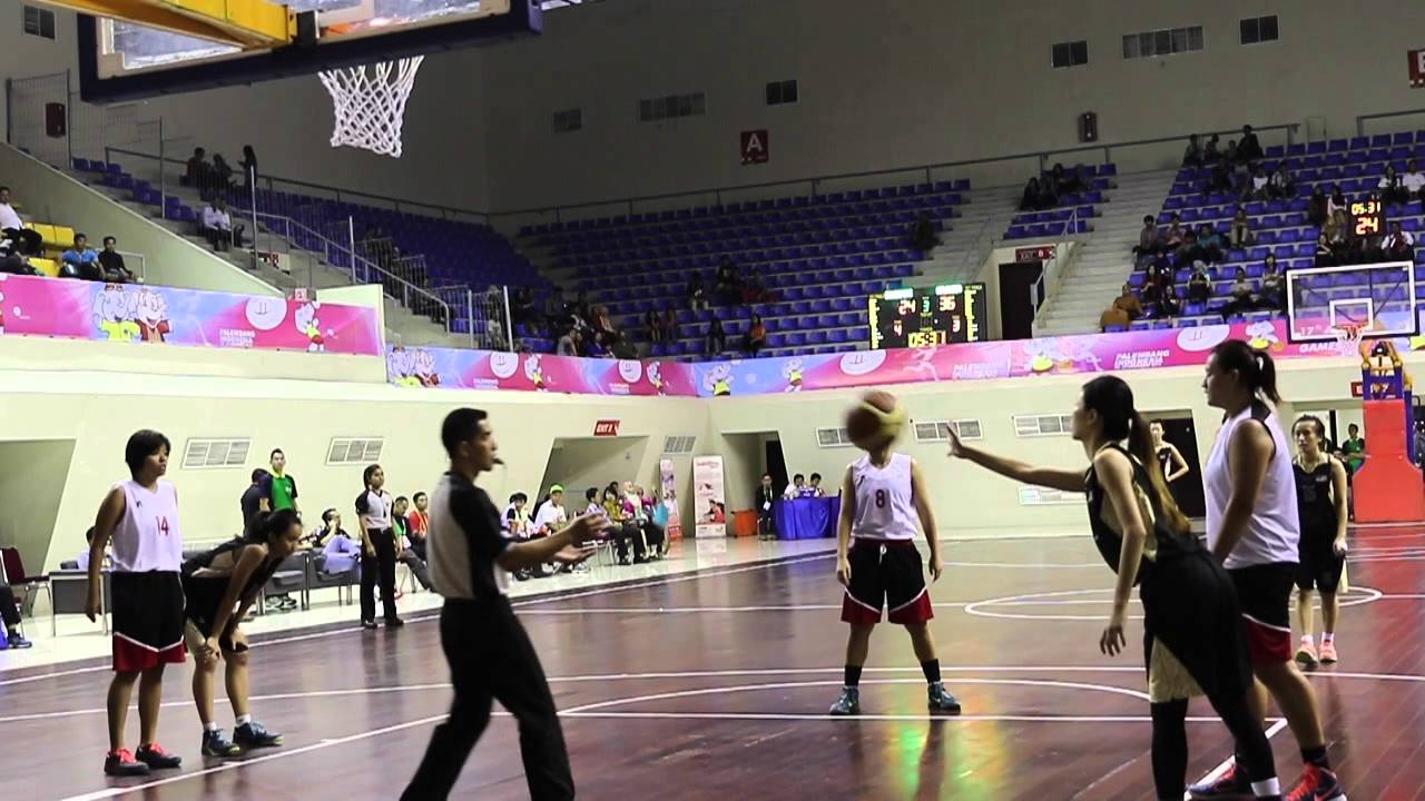Asean University Games  Basketball W Round Robin Singapore Vs Malaysia