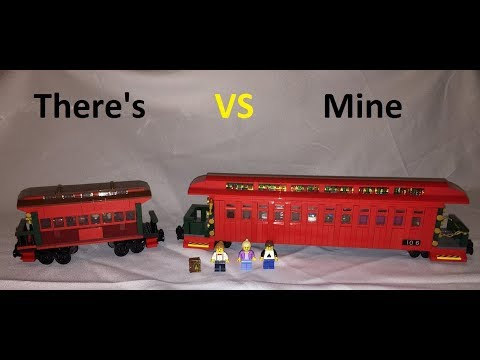 Lego Disneyland * LILLY BELLE * Train Car * There's 71044 VS Mine