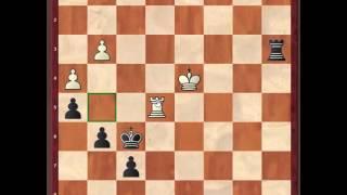 Шахматы. Переход в пешечный эндшпиль