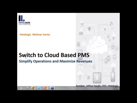 Switch to Cloud Based PMS - Simplify Operations and Maximize Revenues-Webinar
