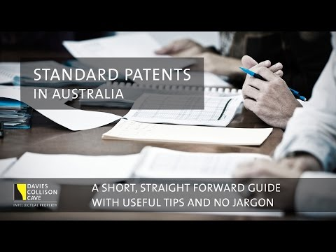 How To File A Standard Patent: The Application Process In Australia