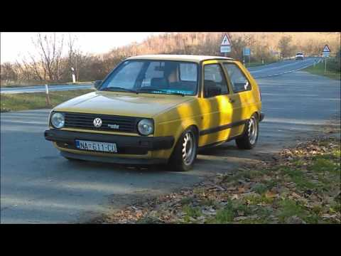 "Golf mk2 Project ""Deutsche Post"""