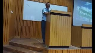 Guest Lecture   by Mr.Bhupendra Kaushal - Vice President -Corporate HR ( Ginni Filament Ltd)