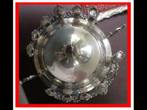 Made in Italy A Wonderful Silver Sugar Bowl table piece with lid and what it is worth?