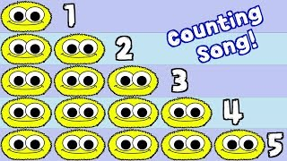 Numbers Song 4 | Counting Numbers 1-10 Song For Kids