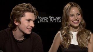 Paper Towns Stars Halston Sage & Austin Abrams Talk High School