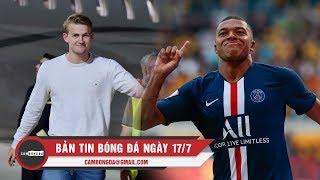 Bản tin Cảm Bóng Đá ngày 17/7 | Siêu Trung Vệ De Ligt cập bến Juve, PSG thắng đậm tại Đức