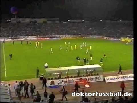 4x Rot: Hansa Rostock - SSV Ulm 2:1 Bundesliga 1999/2000