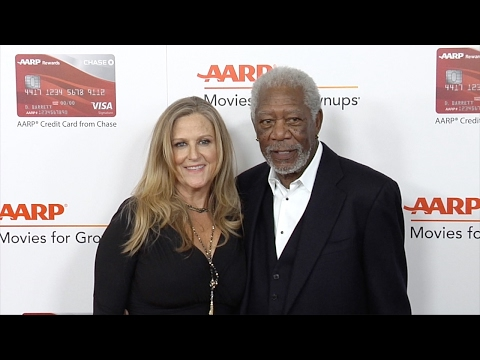 Morgan Freeman 16th Annual Movies for Grownups Awards Red Carpet